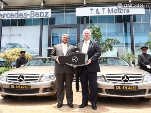'Carz on Rent' becomes Merc's largest client in India
