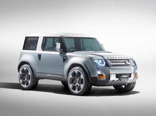 Land Rover Defender Concept 100 and 100 Sport shown at Frankfurt