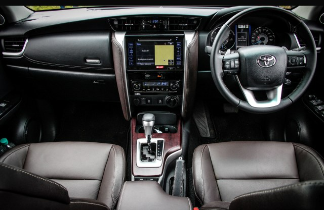 New Toyota Fortuner 2016 Interior Features Comfort And