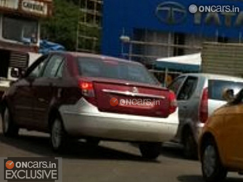 Exclusive! Tata Manza Celebration variant caught testing