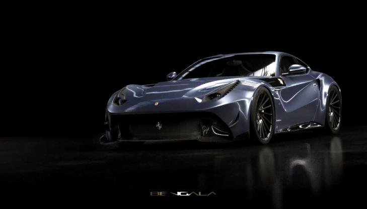 Ferrari F12 Caballeria With Full Carbon Fibre Body Revealed Launch