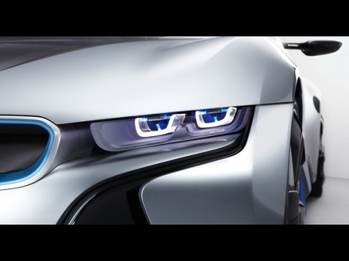 BMW turns to lasers for lighting
