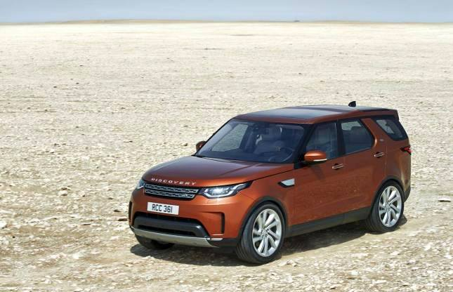 India Bound Land Rover Discovery 2017 showcased at Paris Motor Show