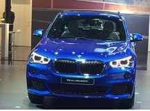 BMW X1 series finally launched at 2016 Auto Expo, Delhi