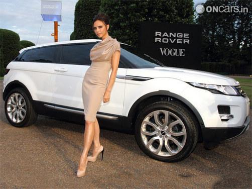 Land Rover to launch Evoque's Victoria Beckham SE