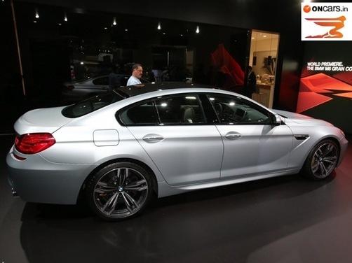 2013 NAIAS: BMW M6 Gran Coupe showcased