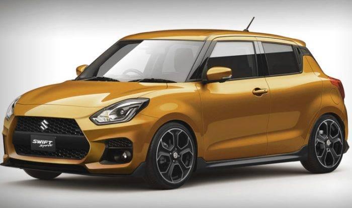 Suzuki Swift Sport Render Image