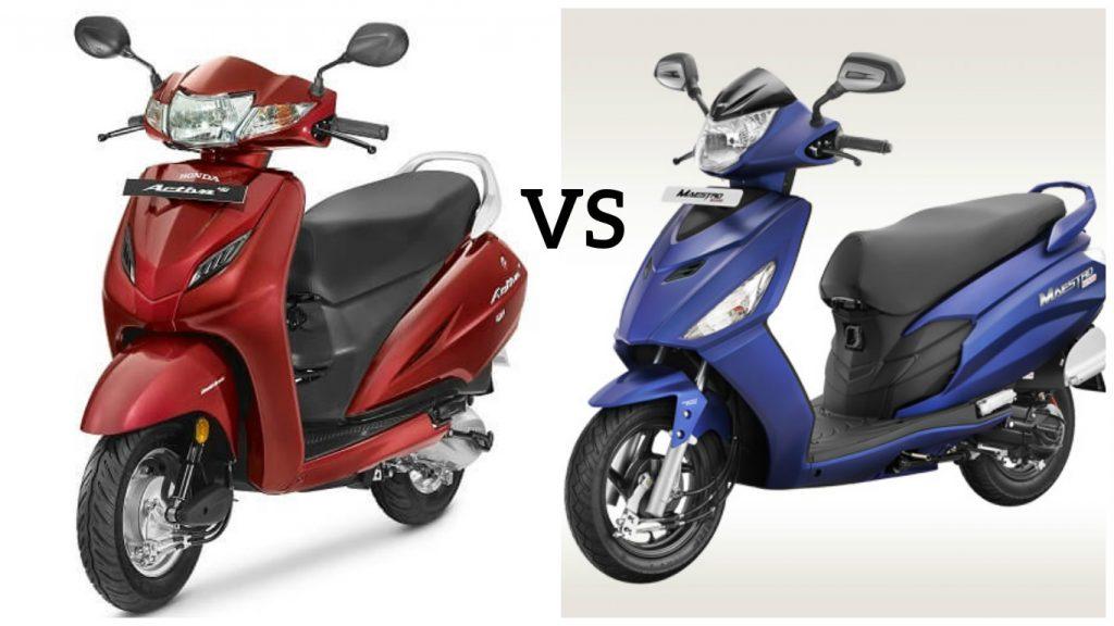 Honda Activa 4G Vs Hero Maestro Edge: Price In India, Engine Specification,  Features, Mileage And Colour
