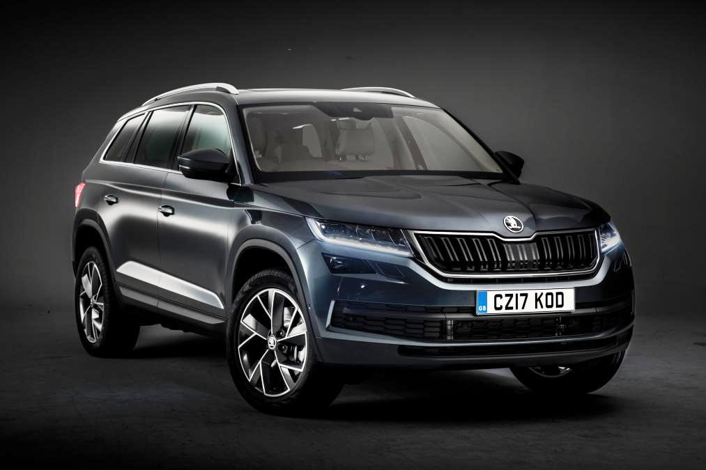 Skoda Kodiaq 7 Seater Suv Seen Testing For The First Time In India