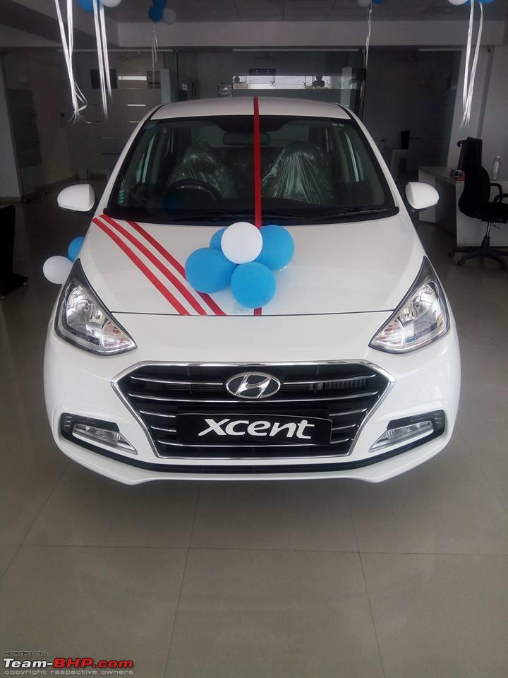 2017 Hyundai Xcent Facelift Reaches Dealerships To Get A New 1 2