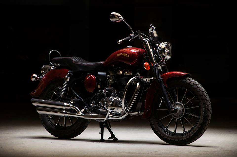 This Royal Enfield Electra 350 Jasper takes the term 'Classic' to a