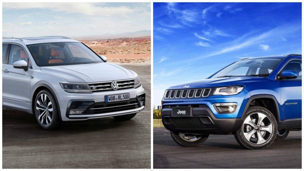 Jeep Compass Vs Volkswagen Tiguan Price Features Specifications