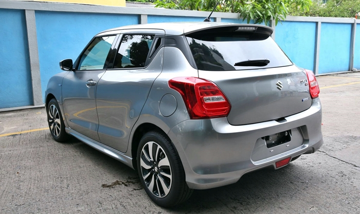 maruti swift rs 2018 images rear