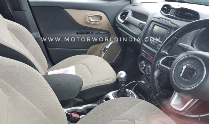 Jeep Renegade 2017 Interior Details Leaked Price In India Likely To