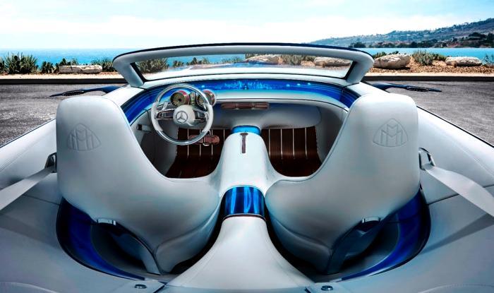 New 2017 Vision Mercedes Maybach 6 Cabriolet Ev Concept Revealed
