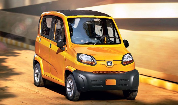 Bajaj Qute Car Price in India, Launch Date & Engine Specifications