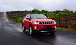 Jeep Compass Surpasses 25,000 Production Units since India Launch
