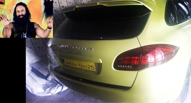 Porsche Cayenne GTS Found at Dera Sacha Sauda Chief Gurmeet Ram Rahim Singh's Sangrur Dera