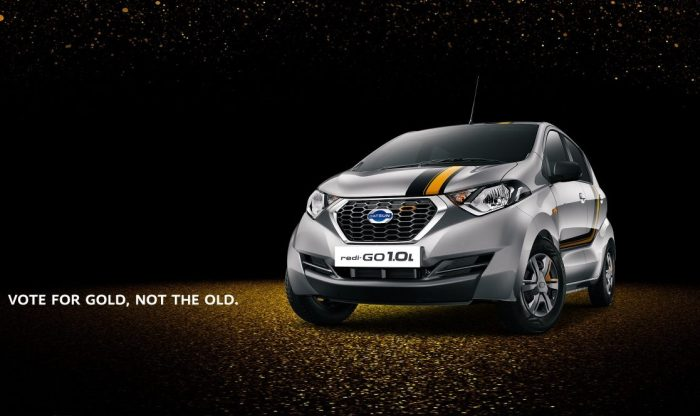 Datsun redi-GO GOLD 1.0-litre Limited Edition Launched; Priced in India at INR 3.69 Lakh