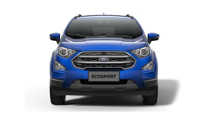 New Ford EcoSport 2017 Facelift front