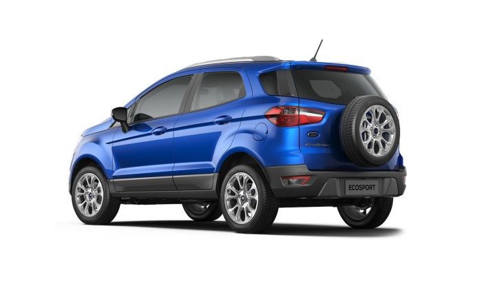 New Ford EcoSport 2017 Facelift rear