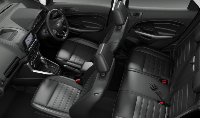 New Ford EcoSport 2017 Facelift interior