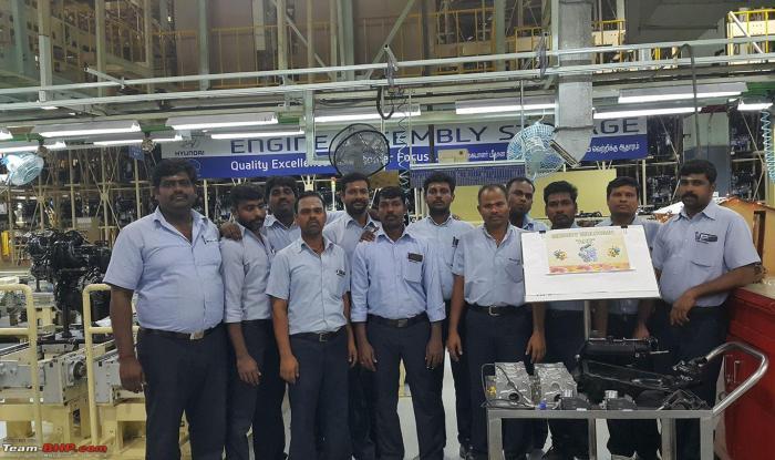 Hyundai Santro AH2 engine