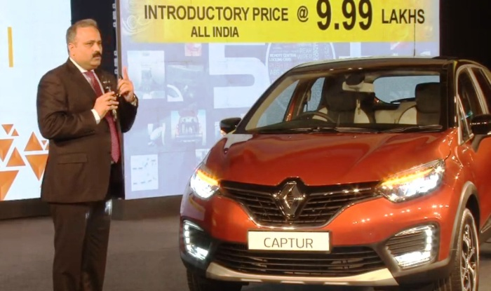 Renault Captur Launched; Price in India Starts from INR 9.99 Lakh