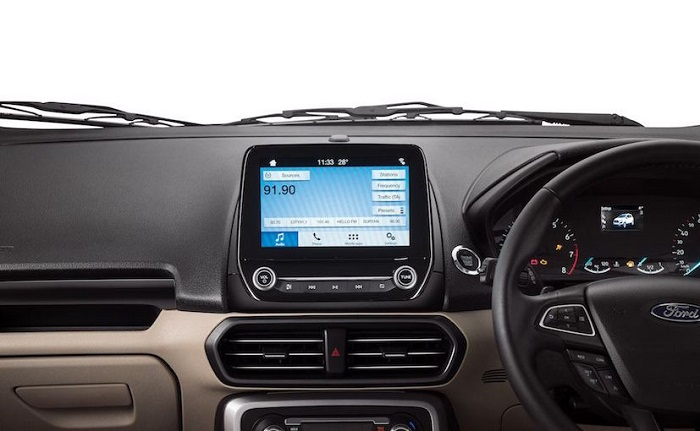 ecosport touch screen display