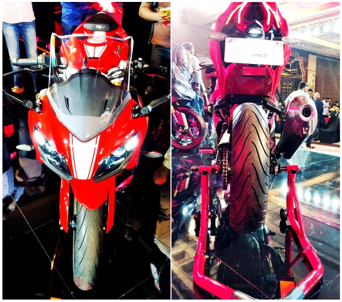 TVS Apache RR 310 Price in India, Images, Top Speed, Mileage