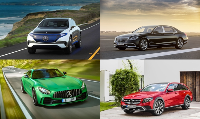 Mercedes-Benz to Showcase Mercedes-Maybach S 650, Concept EQ, E-Class All Terrain & other Products at Auto Expo 2018