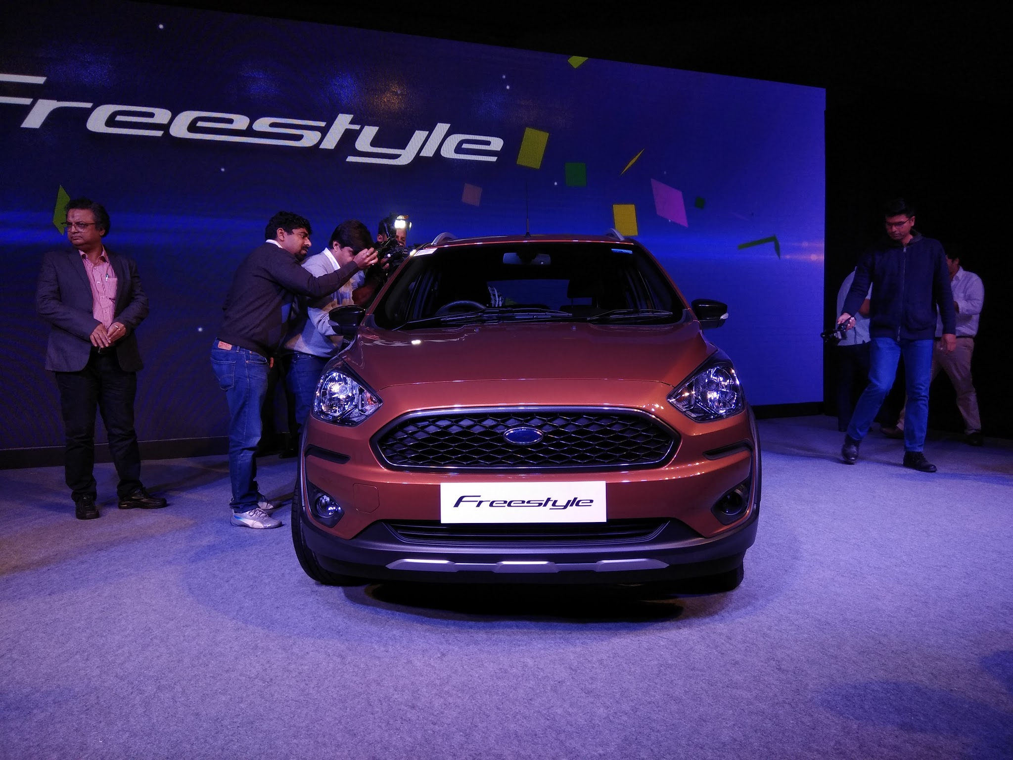 Ford Freestyle Compact Utility Vehicle Unveiled In India; Launch by Second Quarter