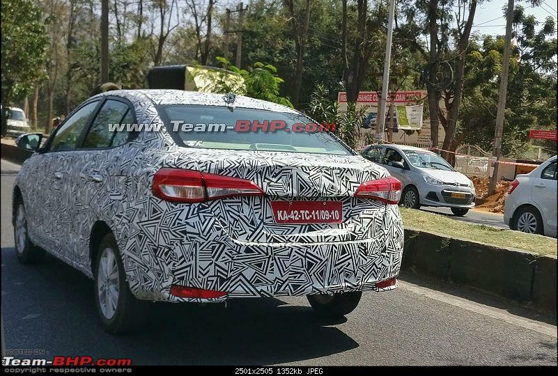 Toyota Yaris Ativ Spotted Testing In India Expected Price Launch Date Images Interior Specification India Com