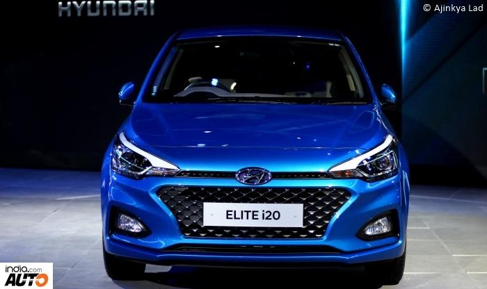 2018 Hyundai Elite i20 Facelift front