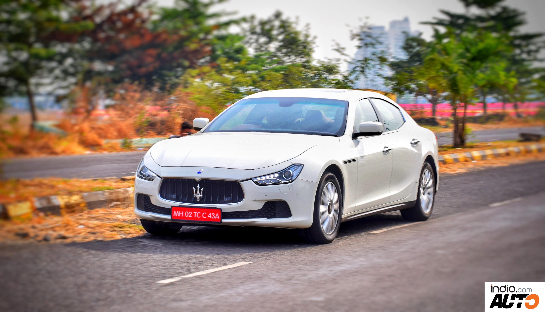 Maserati Ghibli Front Profile
