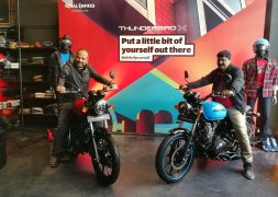 Royal Enfield Thunderbird 350X, 500X Launched; Price in India starts at INR 1.56 Lakh
