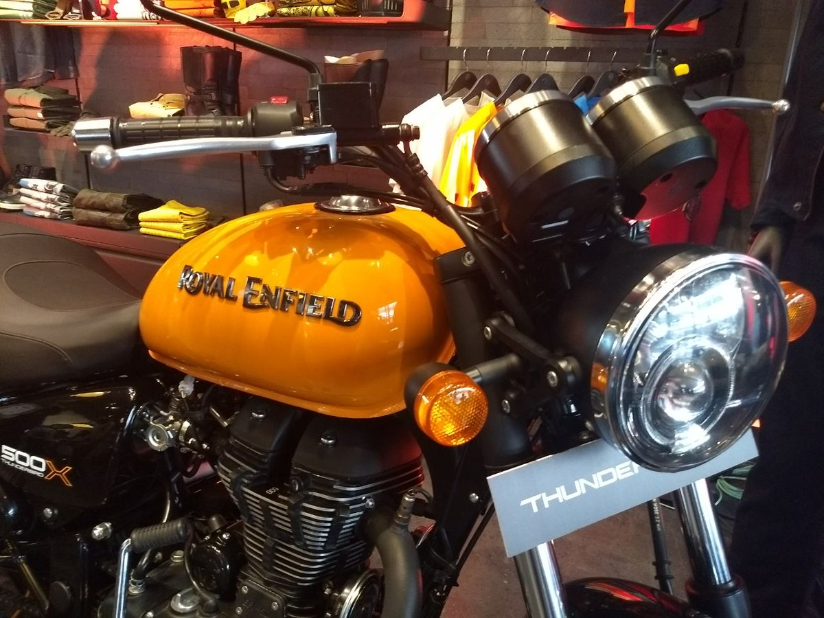 Royal Enfield Thunderbird X - Wide Handlebar and Headlamps assembly
