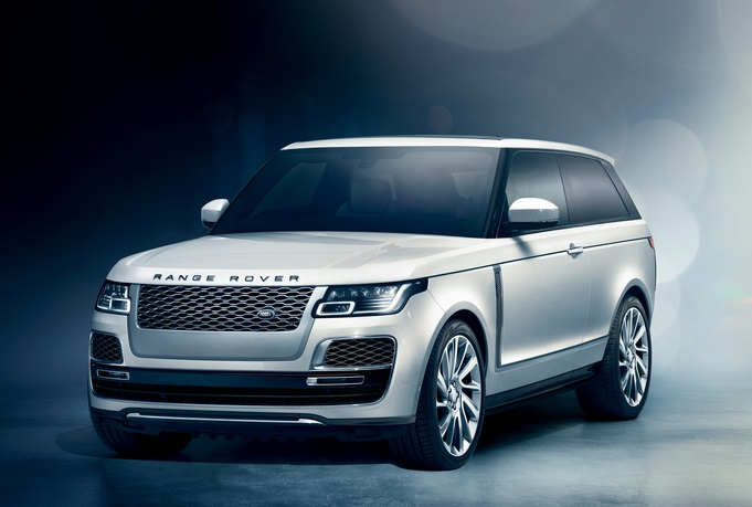 Land Rover Range Rover SV Coupe Makes Debut at Geneva Motor Show 2018