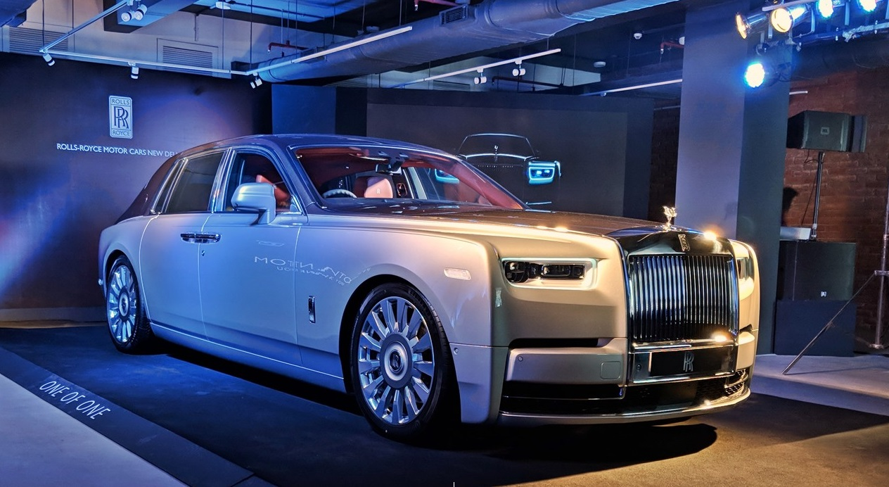 2018 Rolls Royce Phantom Launched; Price in India starts at INR