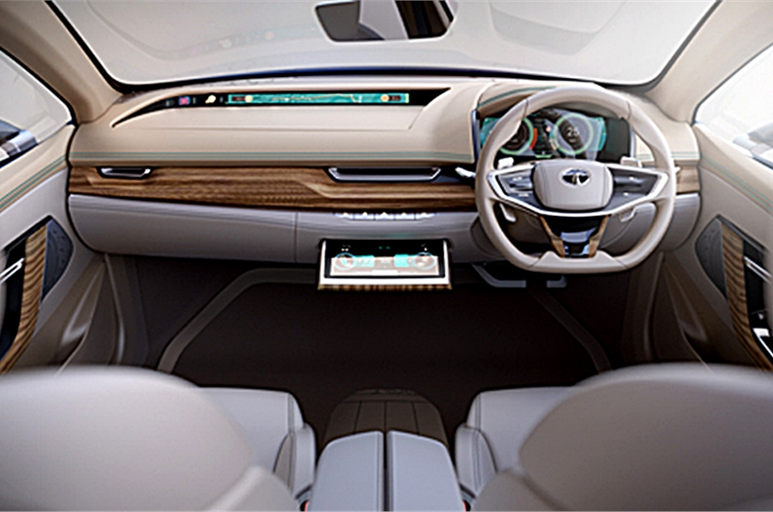 Tata EVaision interiors