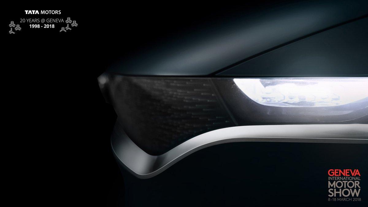 Tata Sedan Concept headlights & grille