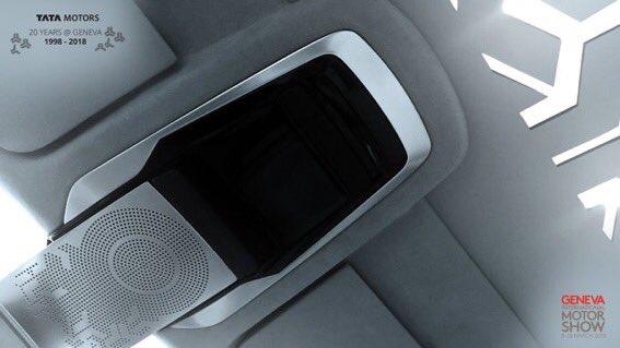 Tata Sedan Concept interior