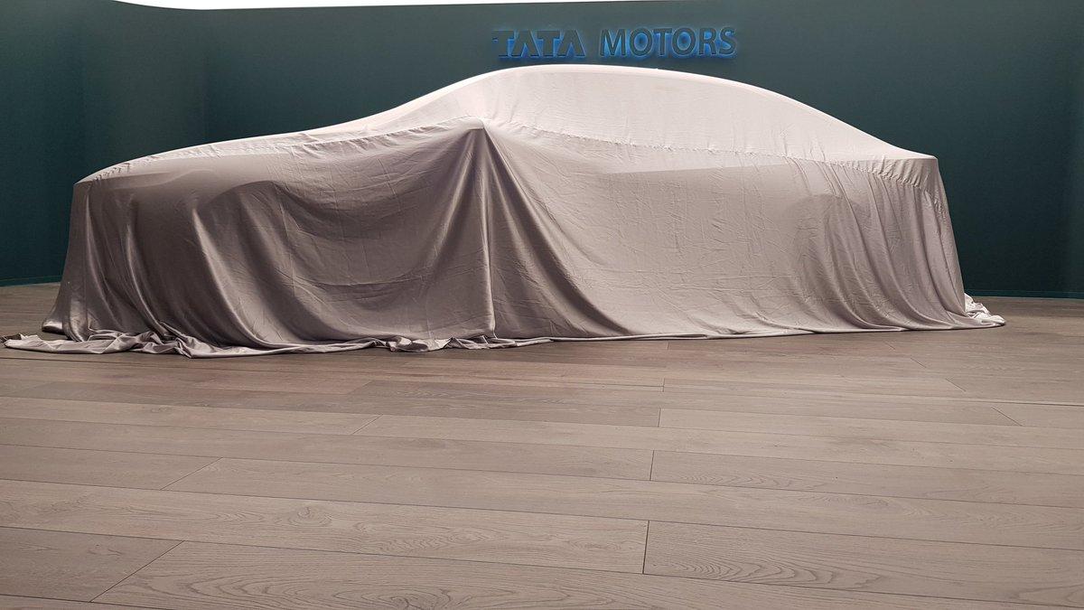 Tata Sedan Concept under Wraps
