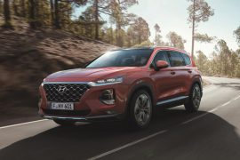 New Hyundai Santa Fe 2018 showcased at Geneva Motor Show 2018