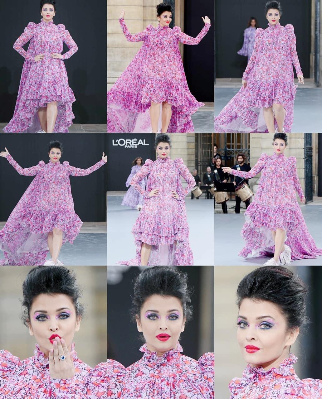 Aishwarya rai bachchan in paris fashion week