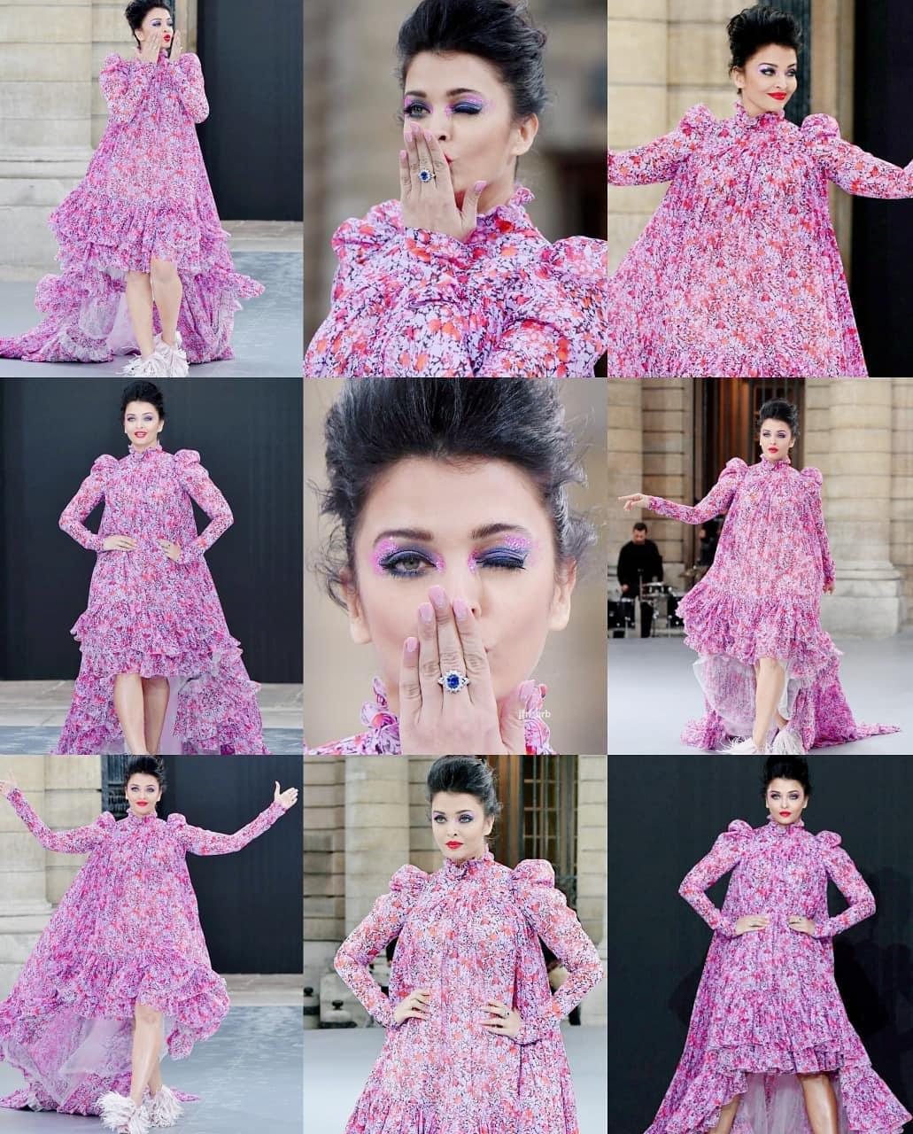 Aishwarya rai bachchan in paris fashion week1