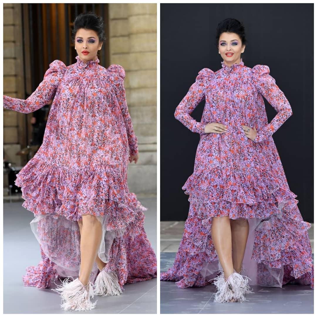 Aishwarya rai bachchan in paris fashion week10
