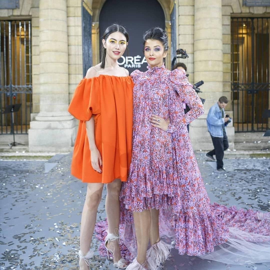 Aishwarya rai bachchan in paris fashion week2
