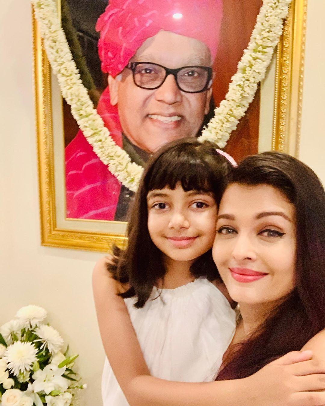 Aishwarya rai bachchan and aaradhya bachchan 1