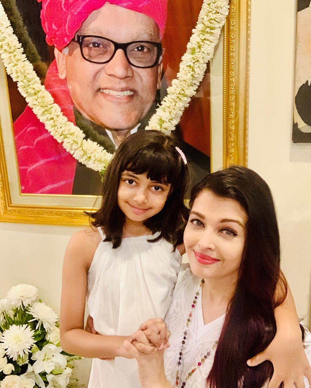 Aishwarya rai bachchan and aaradhya bachchan 10